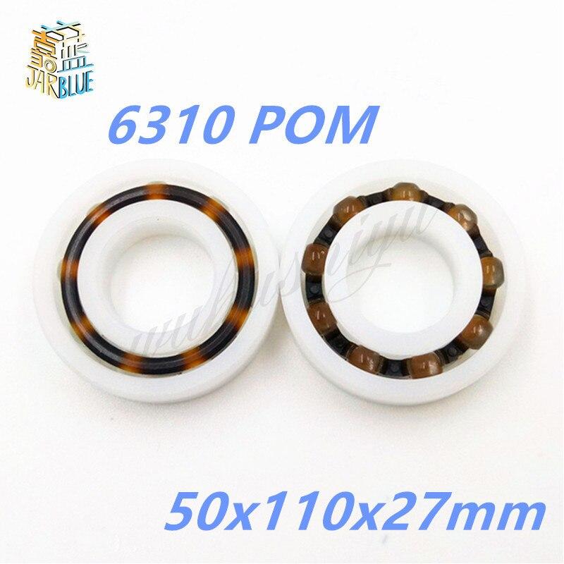 6310 POM (10PCS)  Plastic ball bearings 50x110x27mm  Glass Balls 50mm/110mm/27mm 6809 pom 10pcs plastic ball bearings 45x58x7 glass balls 45mm 58mm 7mm 61809pom