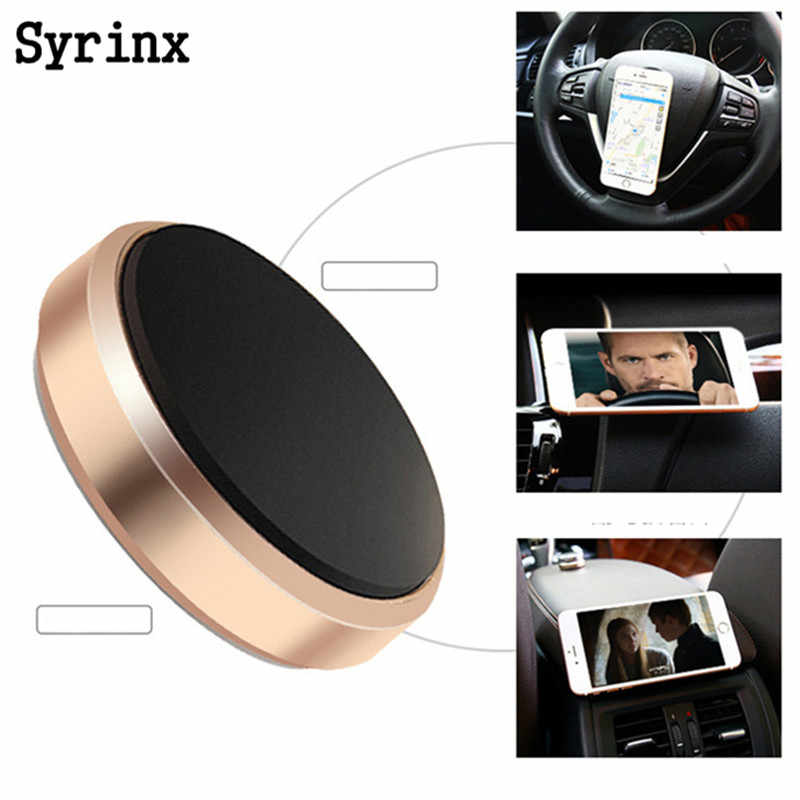 Magnetic Mobile Phone Holder For iphone X 8 7 Car Dashboard Bracket Cell Mount Stand Universal Magnet Wall sticker Auto Support