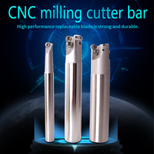 Milling Tools Shank EMRC12-4R13-130-1T Two Inserts Carbide Clamped End Mill Round Nose Milling Cutter Rod Milling Cutting Shank taper shank end mill holder bt50 sln32 250