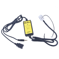 VW Araba CD Adaptörü IÇIN MP3 Ses Arabirimi AUX USB SD 12 P Bağlayın VW Beetle Golf Audi A3 için CD Changer için A4 Skoda Superb için