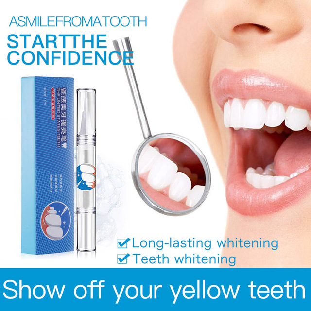 Effective Teeth Whitening Pen Tooth Whitener Tea Coffee Stain Remove