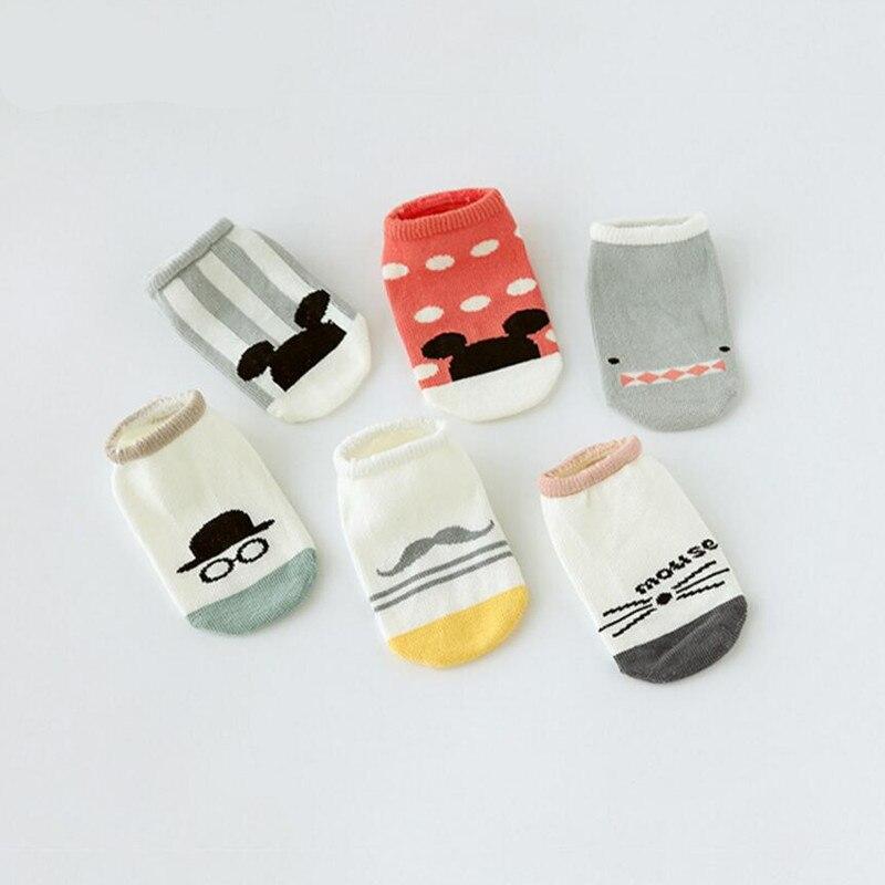 New Hot sale Cotton Cute Boys Girls Baby Socks Fashion Cartoon Soft Floor Baby Sock 0-4 Years