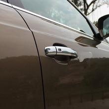 Exterior Parts Chrome Door Handle Cover For Audi Q5 2010-2012 Auto Accessories