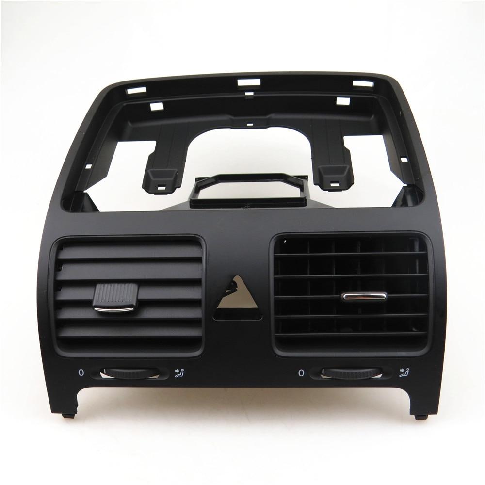 READXT pour GOLF 5 MK5 lapin voiture avant arrière Console centrale buse d'air A/C sortie ventilation de climatisation 1KD819728 - 5