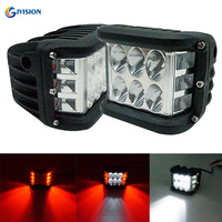 4 inch led working lights Spotlight beam 12Volt led lights for car 4x4 Offroad Cubes Pods Blue Amber Red DRL for Jeep Toyota