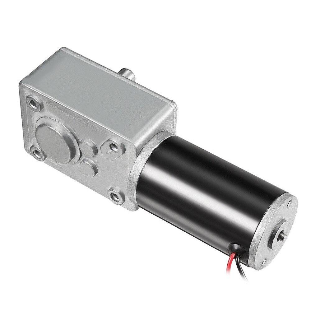 UXCELL (R) 1 stücke DC 12 v 250 rpm 8mm Welle Wurm Getriebe Motor High Torque Geschwindigkeit Reduzieren Turbine Elektrische Power mehr Parameter Verfügbar