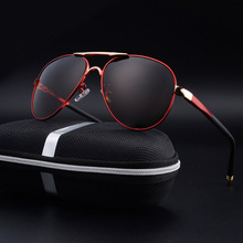 2017 Fashion Classic Pilot Brand Designer Male Sunglasses Men Polarized Sun Glasses Driving Luxury Design Mens Sunglasses Shades