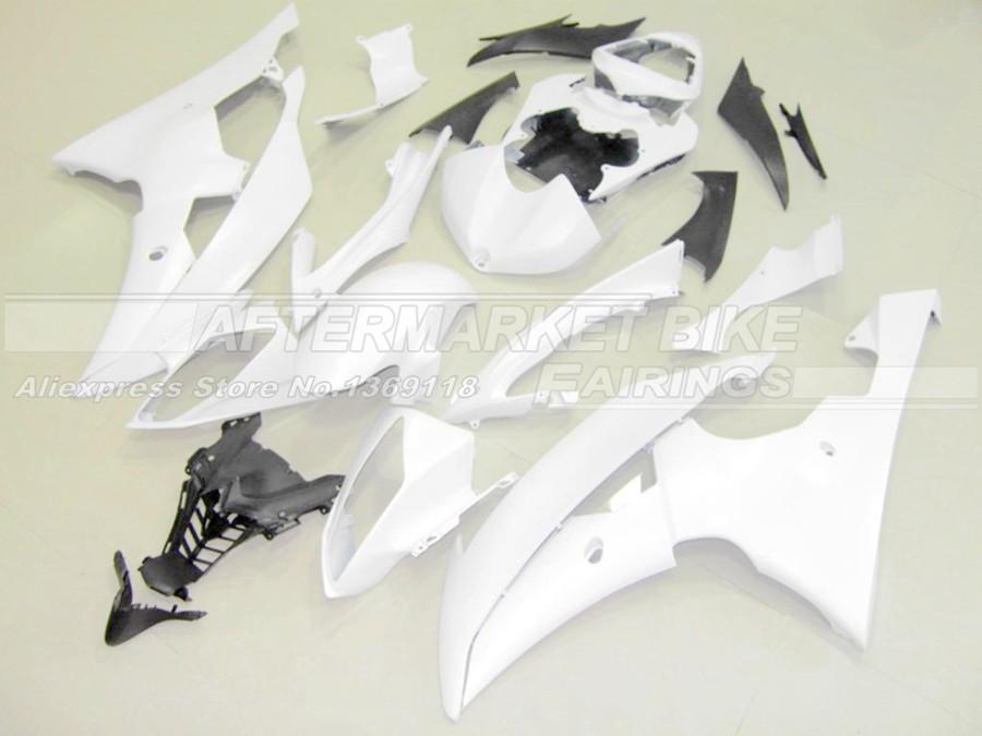 R6 2008-2012 WHITE UNPAINTED