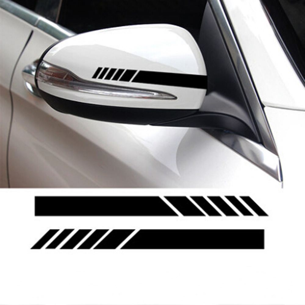 2pcs car styling auto vinyl graphic sticker for toyota corolla hyundai creta lada priora skoda rapid citroen c4 kia ix25 vw super deal june 2019