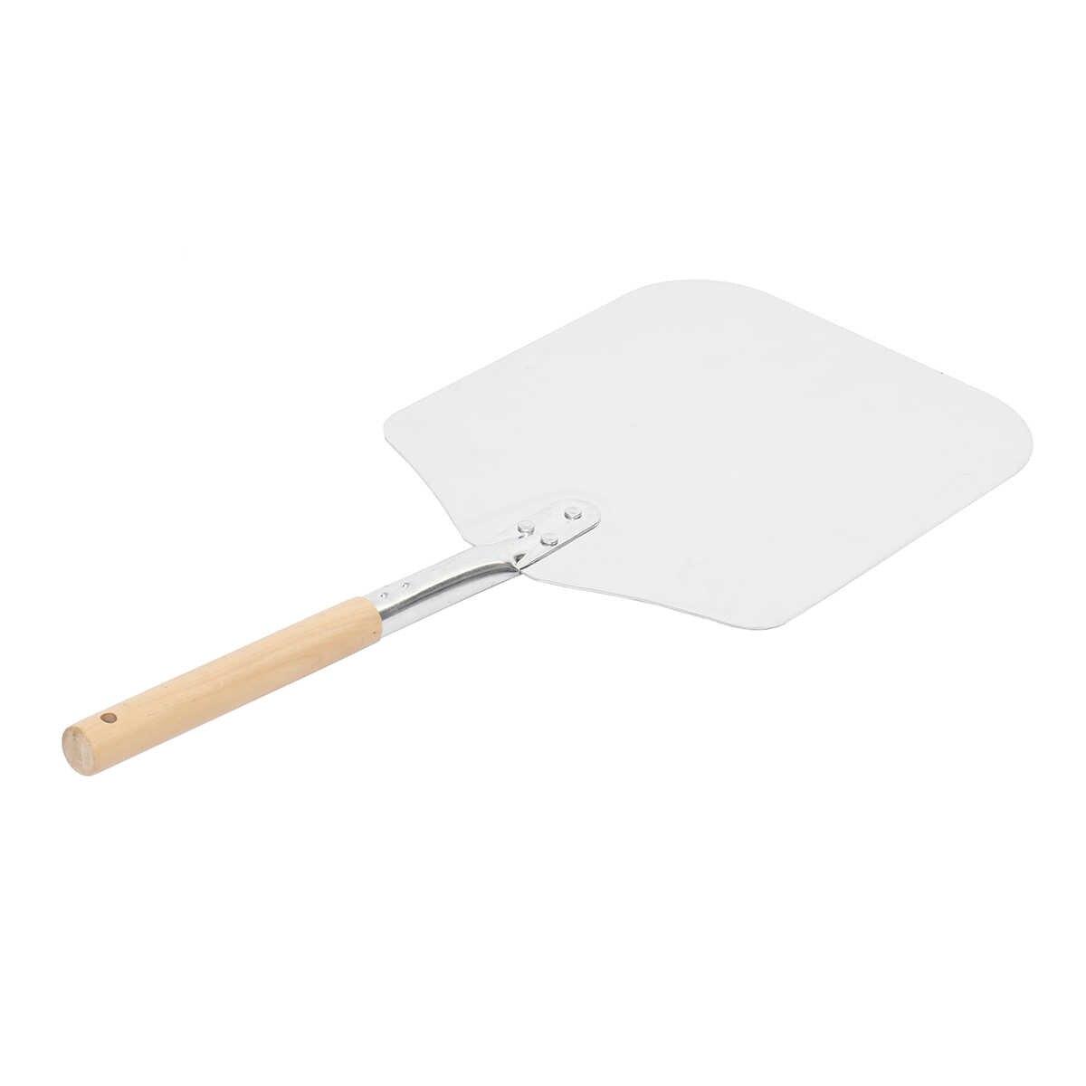 Pizza Spatula Sekop Kue Lifter Pelat Paduan Aluminium Pemegang Baking Alat Keju Cutter Kulit Gadget Bakeware Dapur Aksesoris