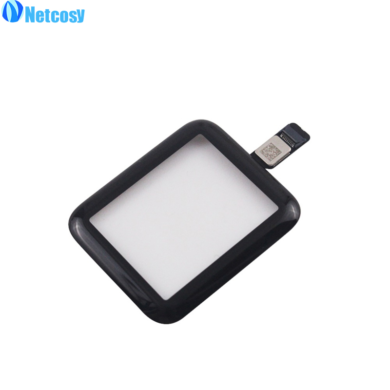Netcosy Front Glass Touch Screen Digitizer Touch Panel Repair For Apple watch series 3 38mm/42mm Touchscreen netcosy touch screen digitizer front touch panel glass for ipad 2 3 4 touchscreen replacement spare part tp repair tools glue