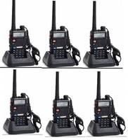 6pcs Baofeng UV 5R CB radio VOX 10 Km Walkie Talkie pair Two Way radio communicador for Baofeng Police Equipment Intercom uv 5r