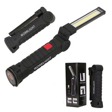 Portable Lumen COB LED Spotlight Working Lights With Magnetic 5 Modes USB Rechargeable High Brightness Energy Saving