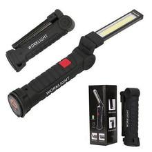 цены Portable Lumen COB LED Portable Spotlight Working Lights With Magnetic 5 Modes USB Rechargeable High Brightness Energy Saving