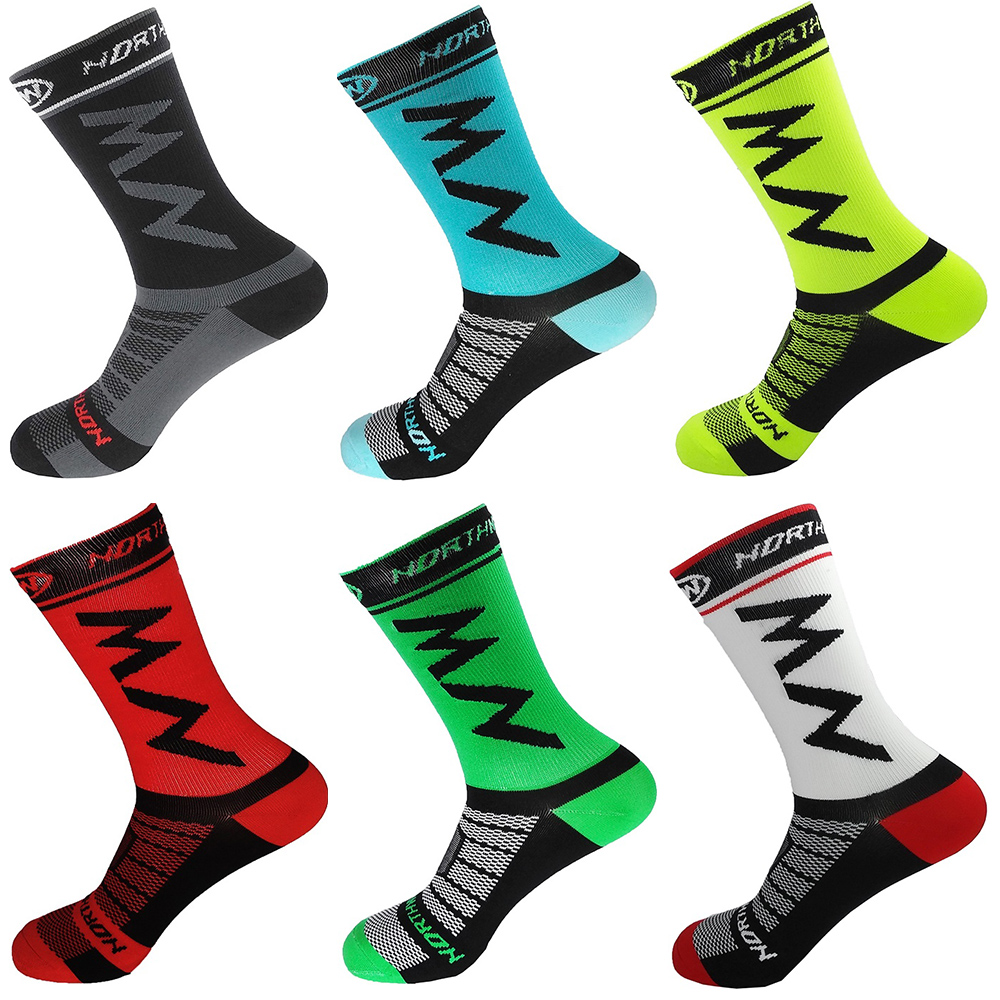 High Quality Pro Team Men Women Cycling Socks MTB Bike Socks Breathable Road Bicycle Socks Outdoor Sports Racing Socks 2018