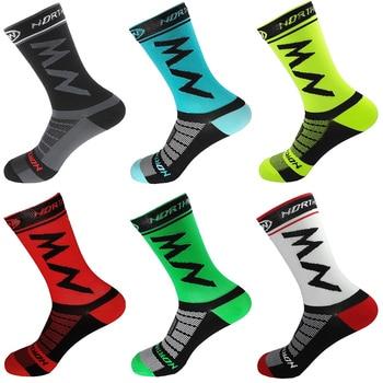 High Quality Pro Team Men Women Cycling Socks MTB Bike Socks Breathable Road Bicycle Socks Outdoor Sports Racing Socks 2018