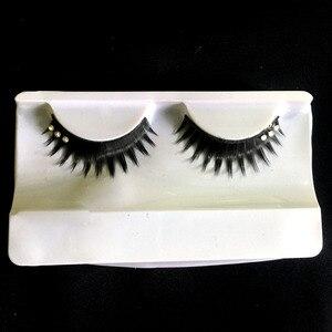 new fashiona pair of false eyelashes encrusted exaggerated fashion glitter lashes