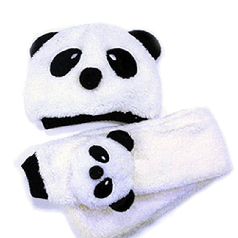 Cute Cartoon Panda Baby Boy Girl Hats Winter Children Wool Cap Kids