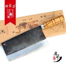 YAMY y CK alta calidad hechos a mano de acero al carbono cuchillo de cocina rebanar carne cuchillo + arte + cortar hueso + Chef cuchillo de Cocina Accesorios