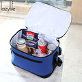 LAZYLIFE Brand New Thermal Cooler Waterproof Picnic Storage Insulated Lunch Bag Portable Carry Tote High Quality Free Shipping