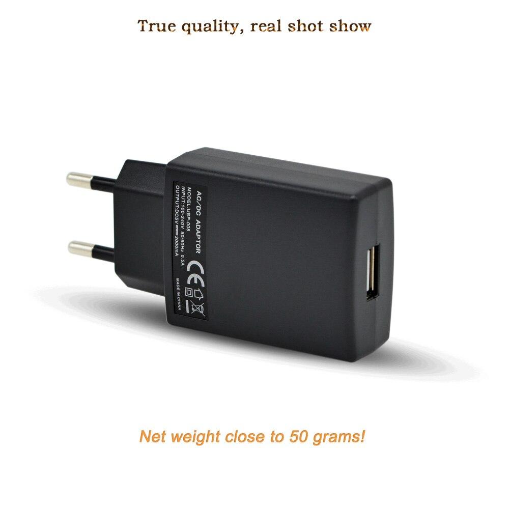 Universal USB-laddare Wall Travel mobiltelefonladdare AC / DC-adapter - Reservdelar och tillbehör för mobiltelefoner - Foto 2
