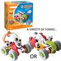 2016New Diseño de Tipo Clásico de dibujos animados de BRICOLAJE coche kid artesanía juguetes Ensamblados Herramienta Destornillador Deformación Juguetes educativos Montaje