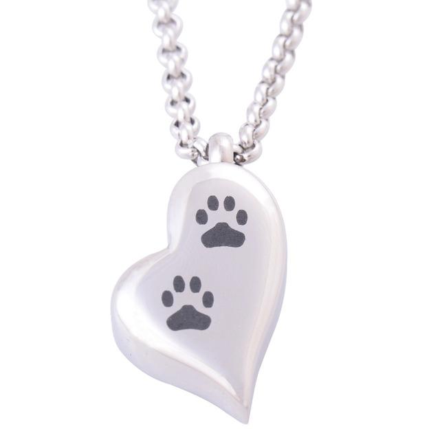 Heart Shaped Pets Memorial Urn