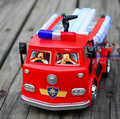 Fireman Sam Carro de Juguete Camión de Bomberos Camión Coche Con Música LED Juguete de Niño Regalo de Navidad Juguetes Educativos
