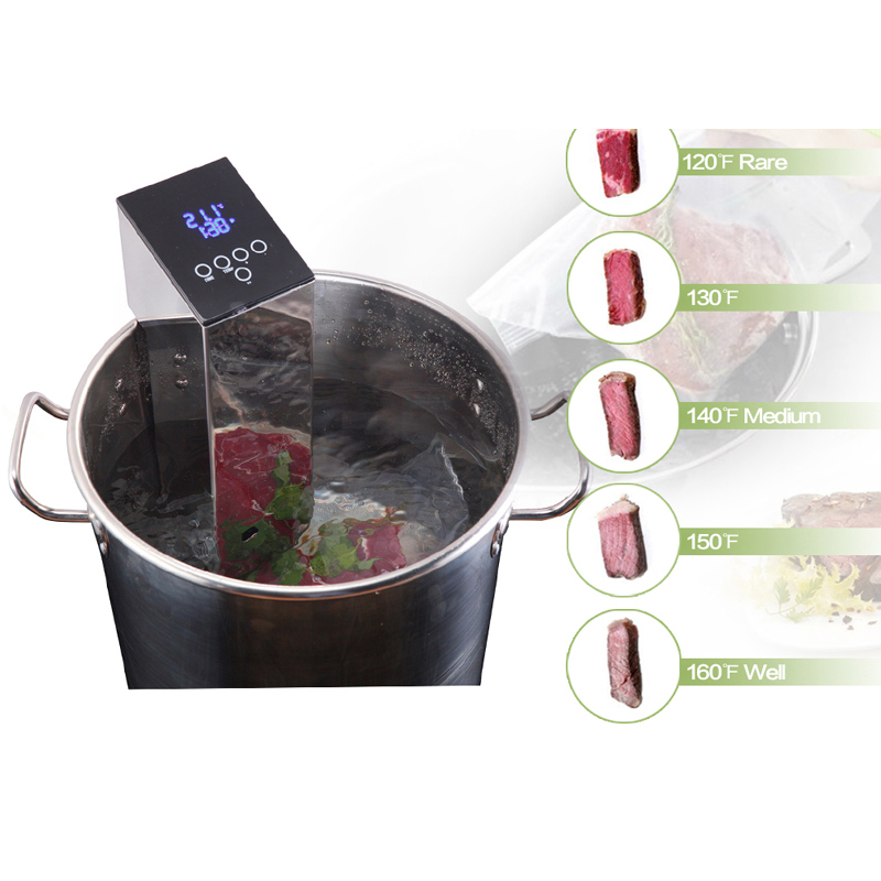 Image 5 - ITOP Food Vacuum Sealer With Vacuum Bags Packaging Machine Household Commercial Sous Vide Cooker Low Temperature Cooking Machine-in Vacuum Food Sealers from Home Appliances