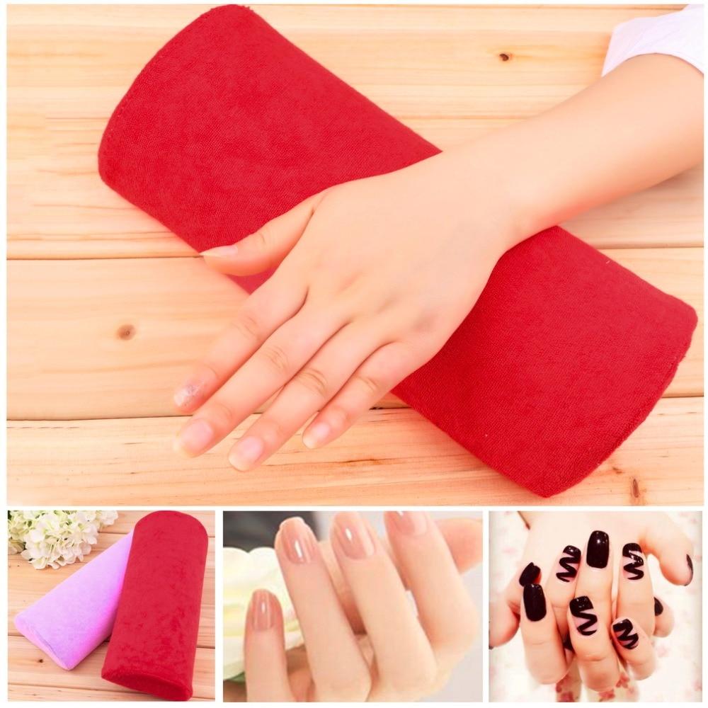 Small Soft Nail Art Hand Rest Pillow Nail Pillow Cushion Nail Salon ...