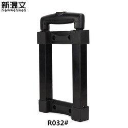 Koffer Ersatz Teleskop Trolley Griff teile Zugstange Griffe Refit Kosmetische fall/Audio box Griff Individuell größe R032 #