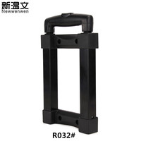 Suitcase Replacement Telescopic Trolley Handle parts Pull Rod Handles Refit Cosmetic case/Audio box Handle Custom size R032#