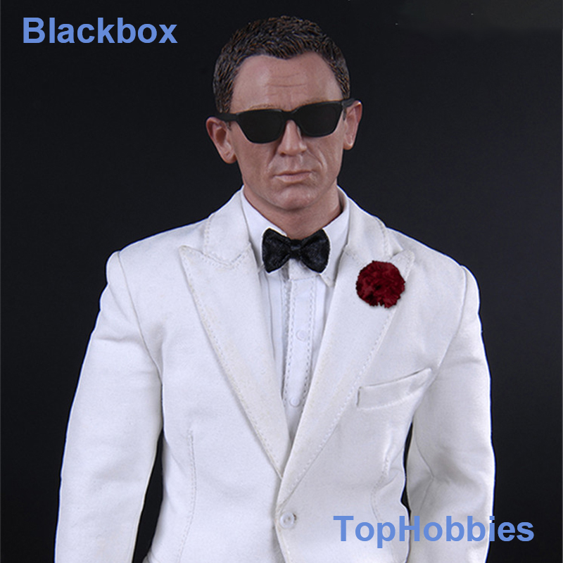 Blackbox Toys BB9003 1/6 Scale 007 Agent James Bond Daniel Craig Ghost Party - Agent James 12 Collectible Action Figure james bond agent 007 ocean royale m edt spr 75 мл тестер