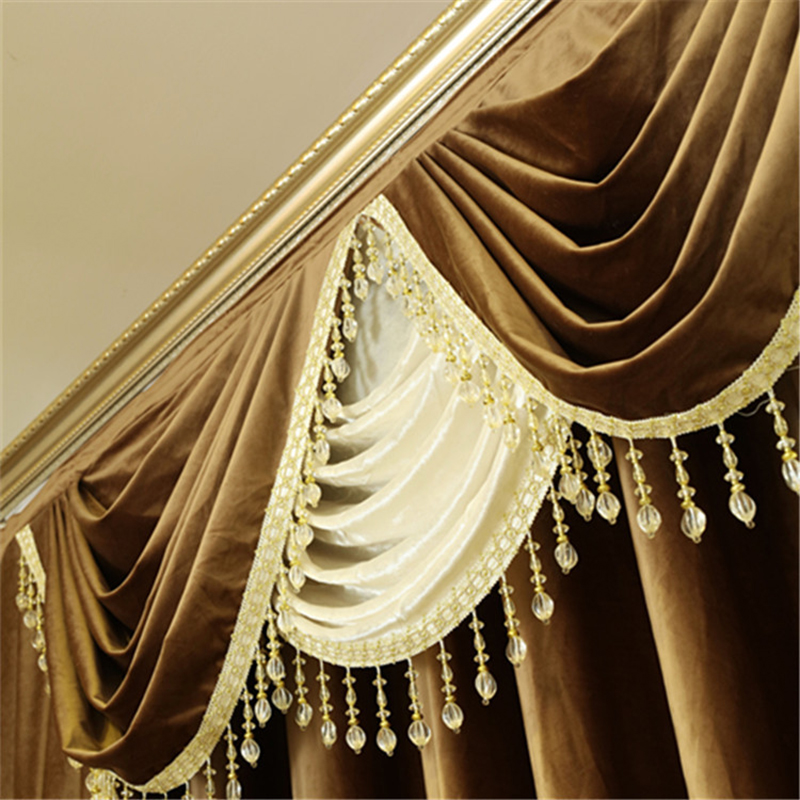 US $14.2 30% СКИДКА|Новые однотонные голландские бархатные занавески для окна, тканевые европейские занавески для гостиной, занавески для спальни|Занавеска| |  - AliExpress