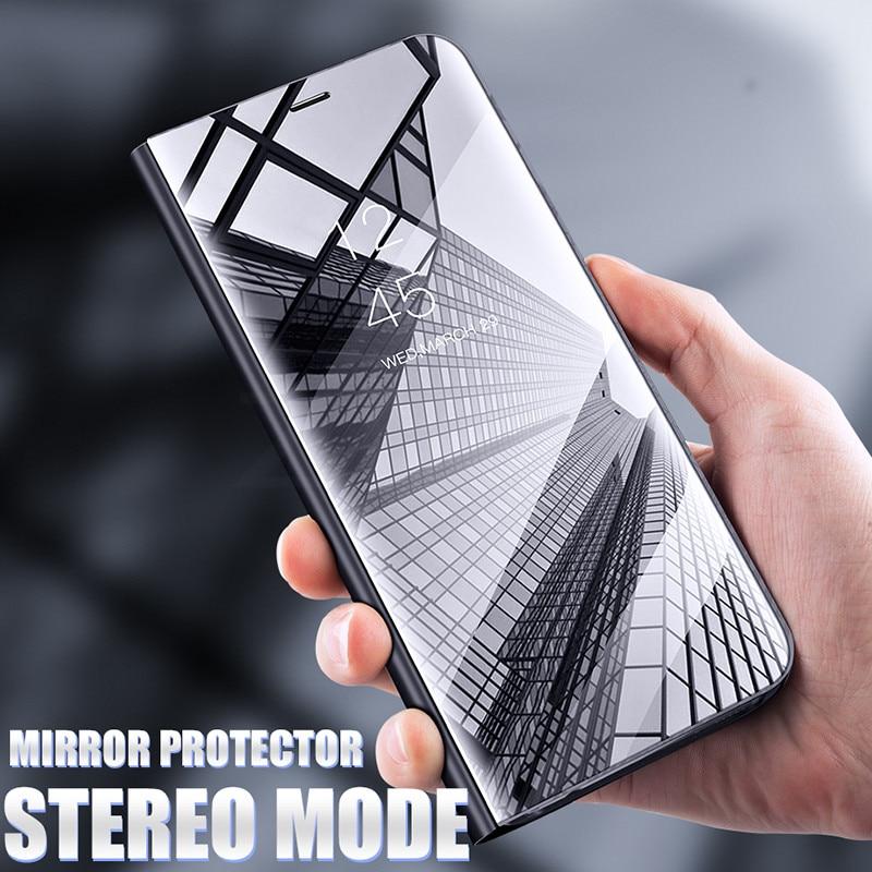 Begeistert Smart Spiegel Flip Telefon Fall Für Samsung Galaxy M20 M10 S10e S8 S9 S10 Plus S7 Rand J4 J6 A6 A8 Plus A9 2018 A30 A50 A10 A70 A40 Guter Geschmack