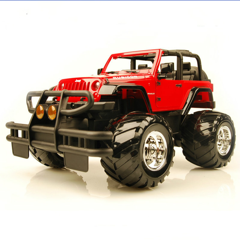 Super Large SUV RC Car 4WD 2.4GHz Rock Crawlers Rally Climbing Micro Racing Remote Control Vehicle Charging Toy Children Gift jjrc q36 off road rc car 3 5ch rock crawlers 4wd 30km h driving car 1 26 remote control model vehicle toy for children kids
