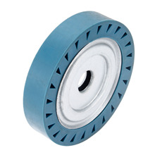 DRELD 150*30*25mm Solid Rubber Contact Wheel For Belt Grinder Sander Polishing Chamfering Grinding Wheel Abrasive Belt