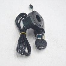 Lcd-Display Electric-Bike-Battery Twist-Throttle-Accelerator for 12V-99V