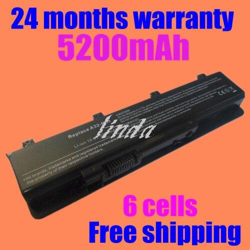 JIGU 6 ячеек батареи Ноутбука Для Asus N45 N45E N45S N45F N45J N55 N55E N55S N75 N75S N75E N55F N75F, А32-N55