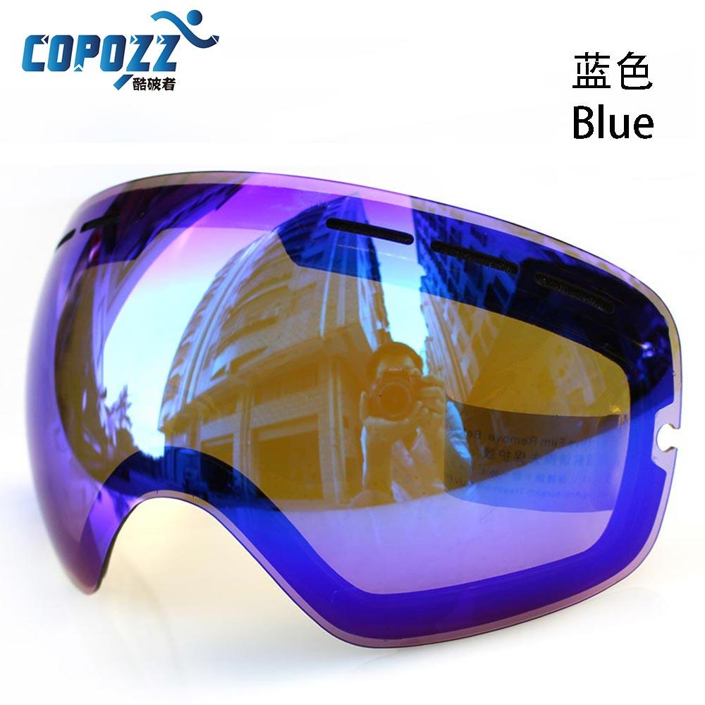 esquí antiniebla para moto de nieve para COPOZZ GOG-201 UV400 - Ropa deportiva y accesorios - foto 4