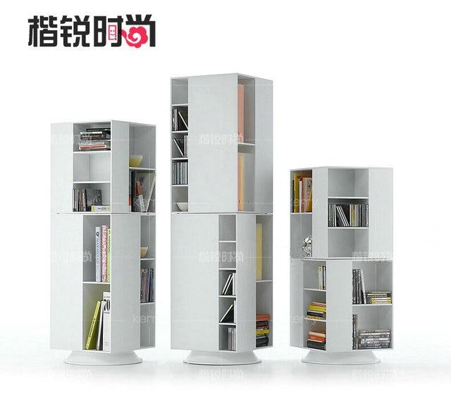 Kai Rui Rotating Bookcase Combination Of Stylish Furniture Ikea Shelving Minimalist Modern Special Custom Bs002
