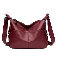 Hochwertige frauen Aus Echtem Leder Handtasche Totes Mode Vintage Frauen Umhängetasche Große Kapazität Crossbody Reisetaschen Bolsa