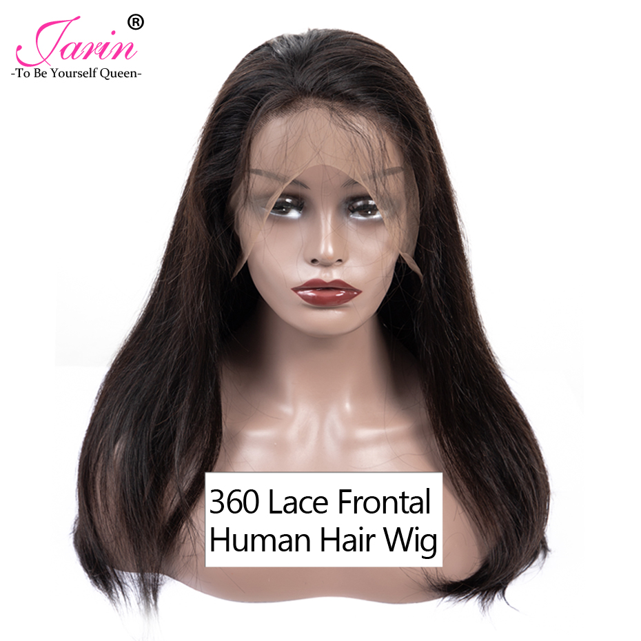 150 Density Brazilian Human Hair 360 Lace Frontal Wig Straight Hair Lace Front Wigs With Baby