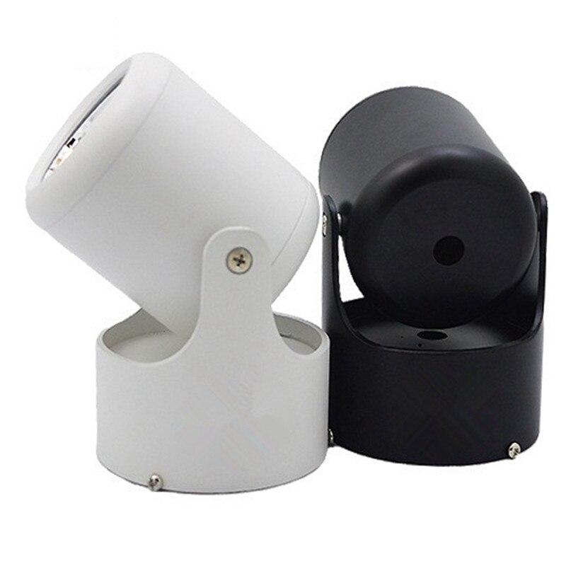 Led-beleuchtung Led Downlight 12 Watt Cob Ultrabright Led Spot-licht Für Wohnzimmer Schwarz Eingebettet Deckenleuchte Runde Licht Anti-glare Ac85-265v