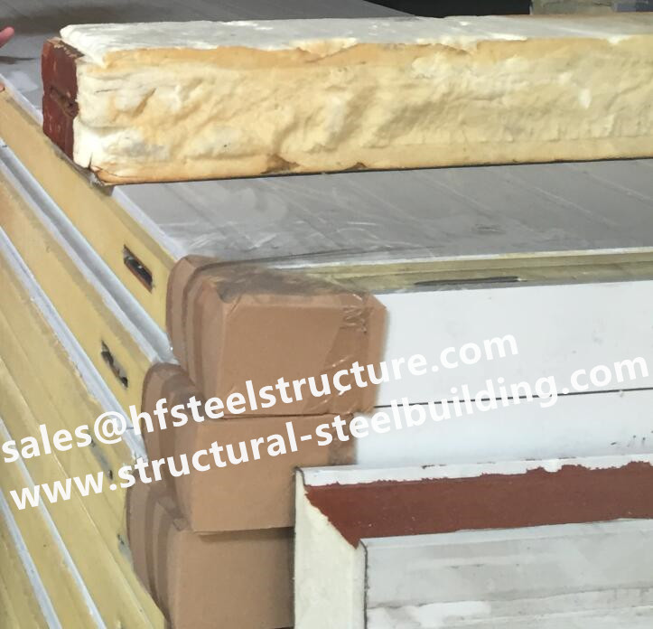 Thermal Insulated Sandwich Panels Used For Cold Room Of Mushroom Cultivation