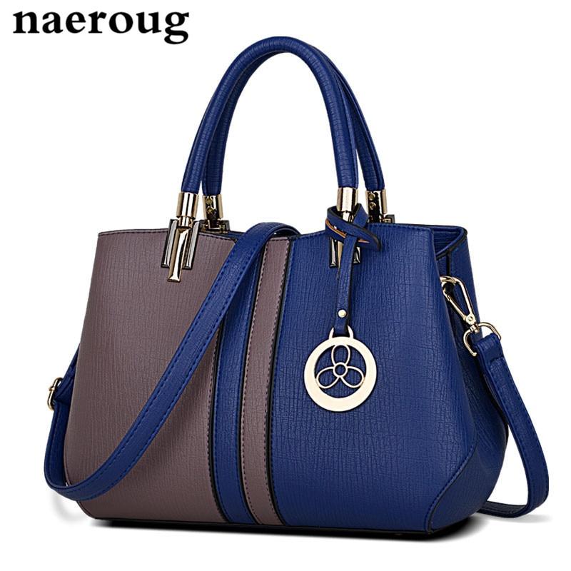 ФОТО Multi-color Stitching Women Totes Handbag Designers Soft Leather Shoulder Messenger Bags Handbags Women Famous Brands Sac A Main