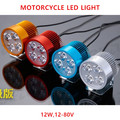 Hot sale!Motorcycle/Scooter headlight prerequisites cool warriors locomotive LED light 12v-80v
