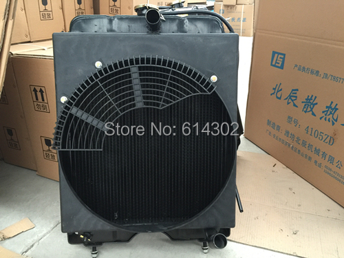 radiator for weifang 495/K4100 diesel engine parts / Ricardo 8kw -50kw diesel generator parts ricardo arjona veracruz