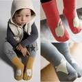 Corea del diseño lindo bebé recién nacido calcetines antideslizantes calcetines de los niños