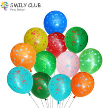 100pcs/lot Mickey Mouse Balloon Printing Latex Balloons Multicolor 12 Inch 2.8g Baby Birthday Party Decor Supplies Kid Toy Ball